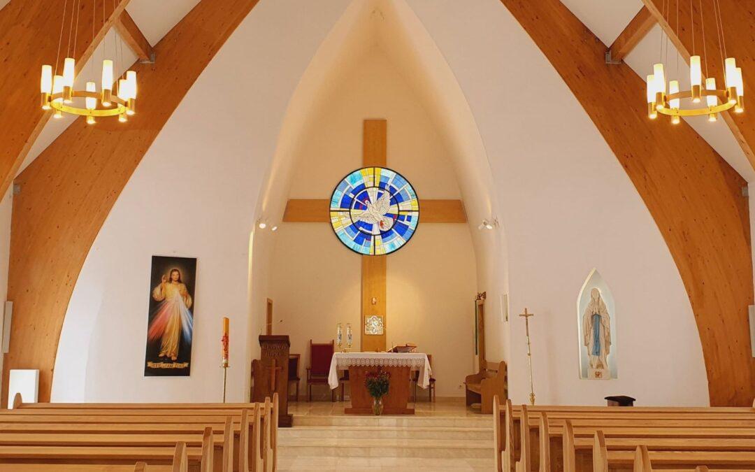Wygląd kościoła 07.02.2021